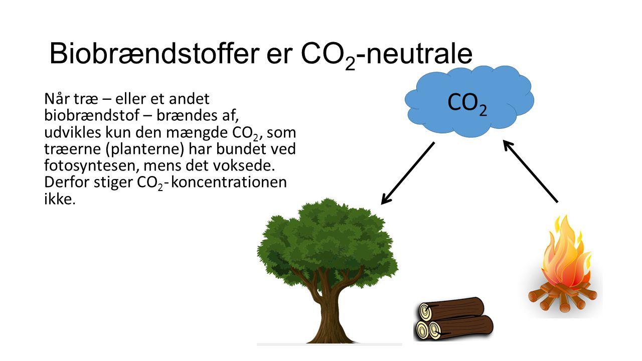 Biobrændstoffer er CO2-neutrale