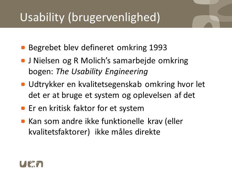 Usability (brugervenlighed)