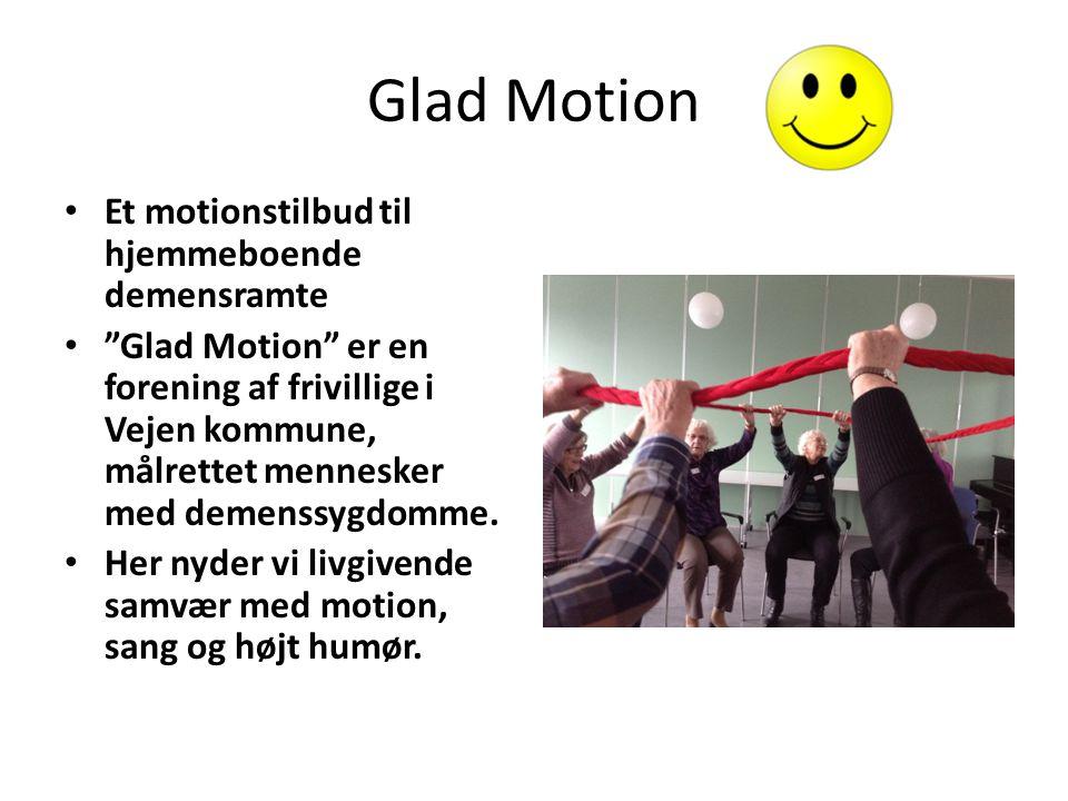 Glad Motion Et motionstilbud til hjemmeboende demensramte