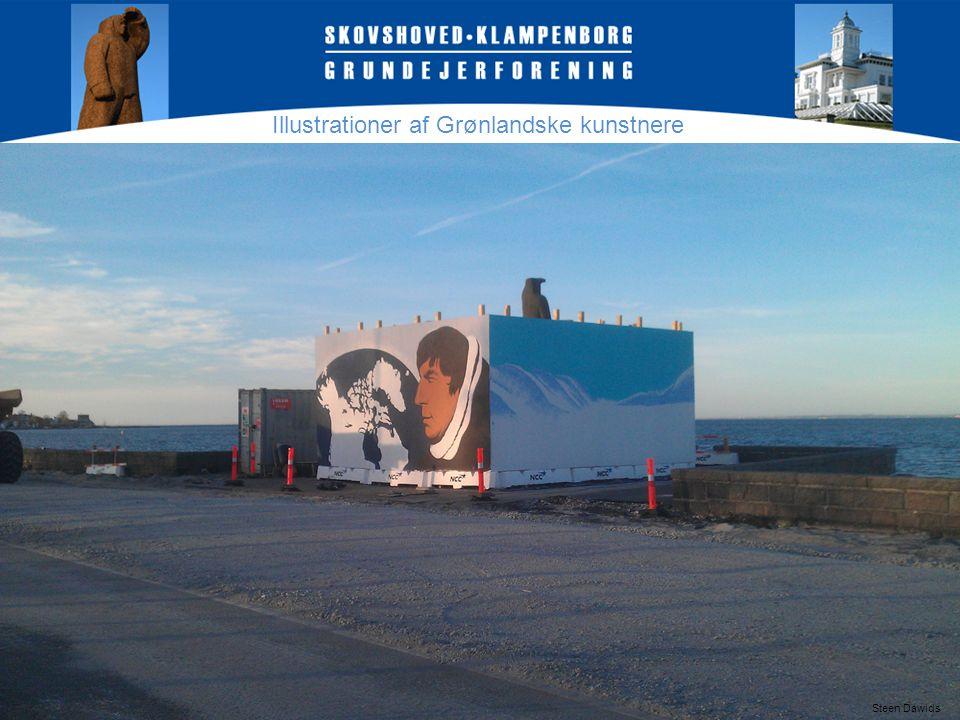Illustrationer af Grønlandske kunstnere