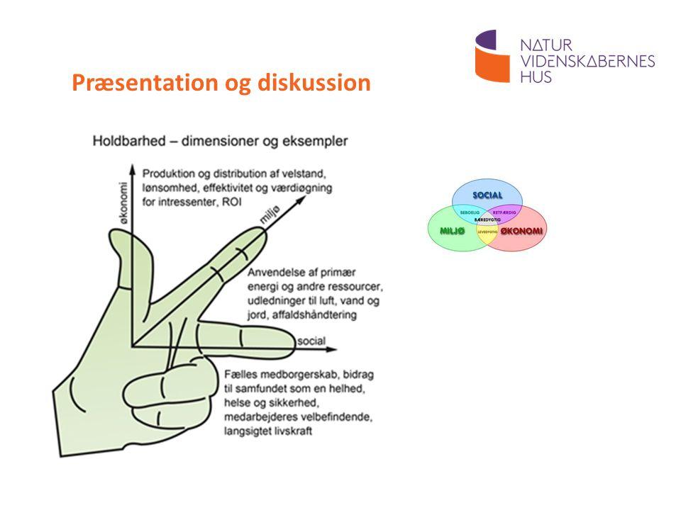 Præsentation og diskussion