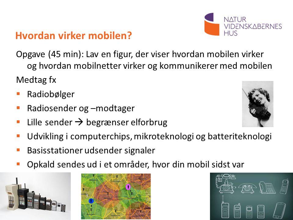 Hvordan virker mobilen