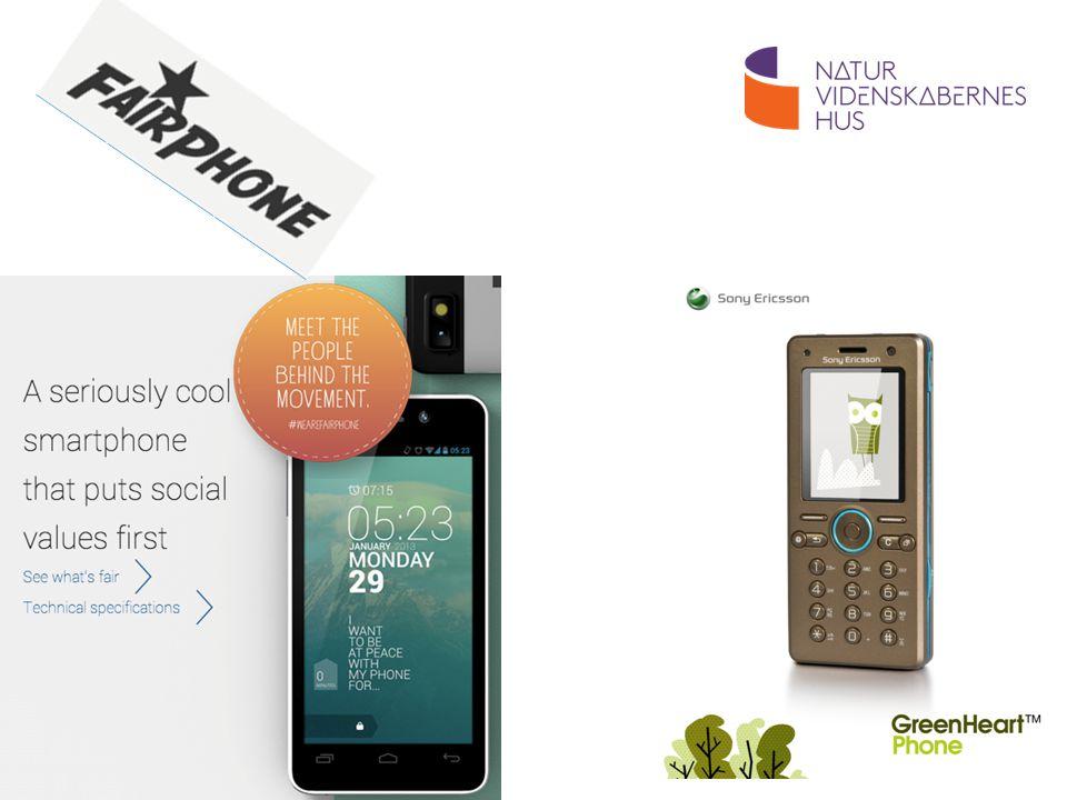 Dagens aktuelle bud på bæredygtige mobiltelefoner fra mobilselskaber: