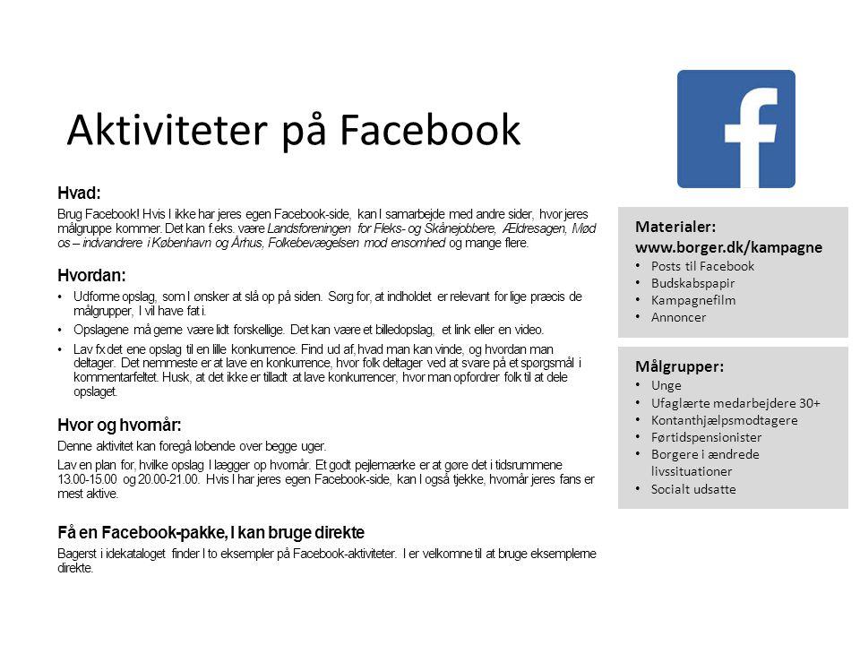 Idékatalog Inspiration til arrangementer og aktiviteter i uge 46 og ppt video online download