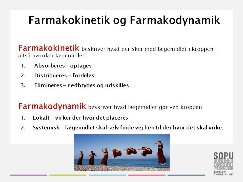 Farmakokinetik og Farmakodynamik