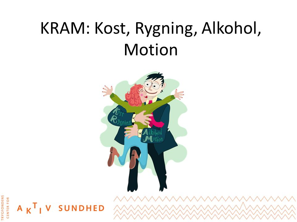 KRAM: Kost, Rygning, Alkohol, Motion