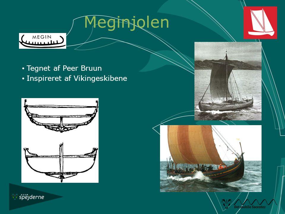 Tegnet af Peer Bruun Inspireret af Vikingeskibene