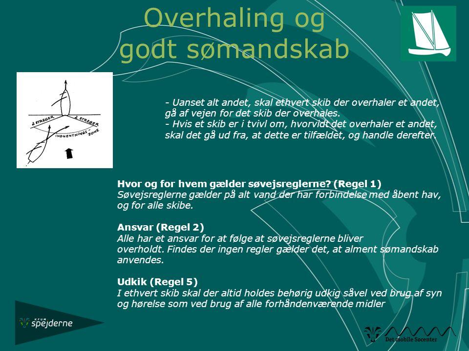 Overhaling og godt sømandskab
