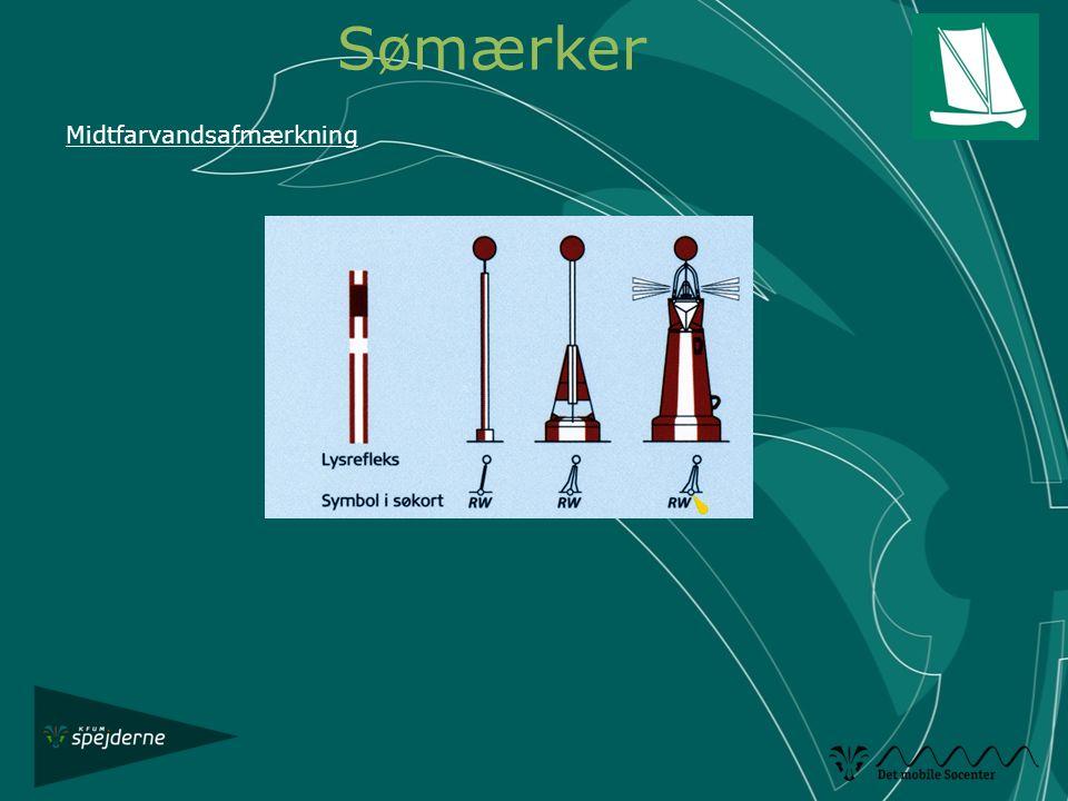 Sømærker Midtfarvandsafmærkning