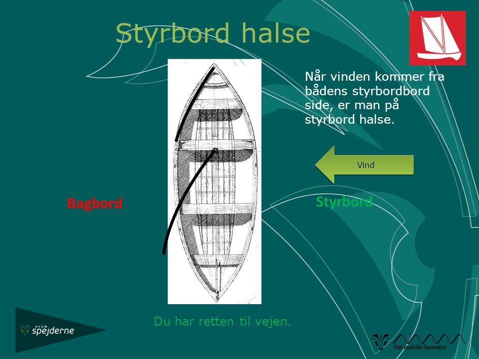 Styrbord halse Styrbord Bagbord