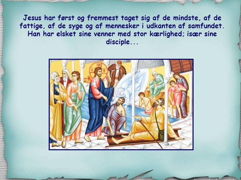 Jesus har først og fremmest taget sig af de mindste, af de fattige, af de syge og af mennesker i udkanten af samfundet.