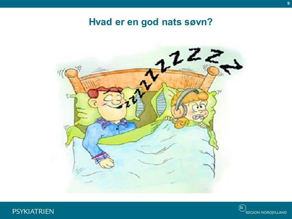 Hvad er en god nats søvn