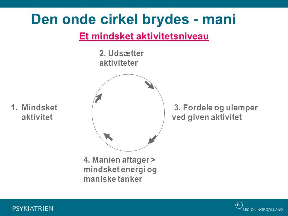 Den onde cirkel brydes - mani