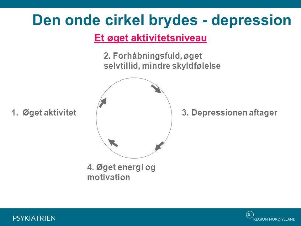 Den onde cirkel brydes - depression