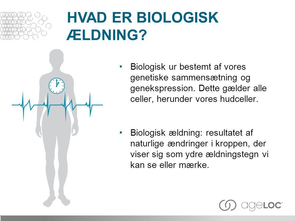 HVAD ER BIOLOGISK ÆLDNING