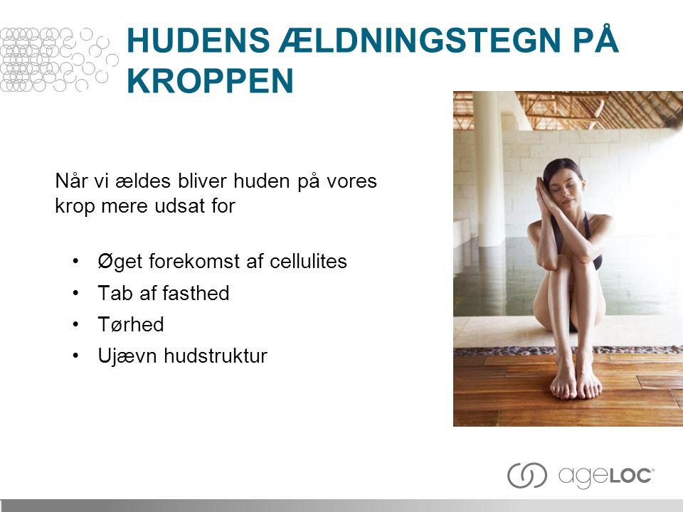 HUDENS ÆLDNINGSTEGN PÅ KROPPEN