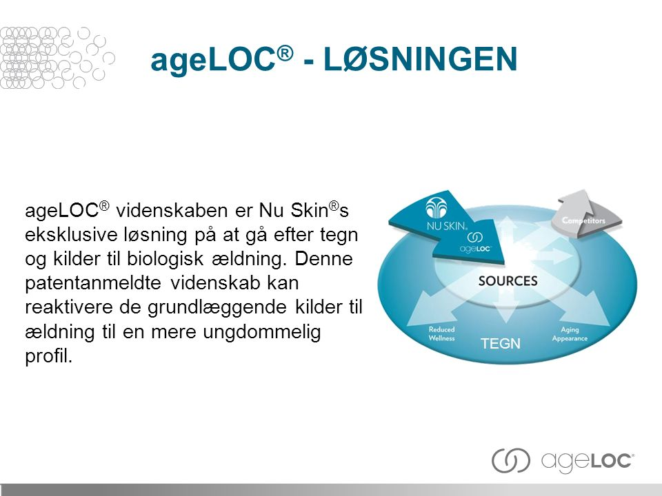 ageLOC® - LØSNINGEN