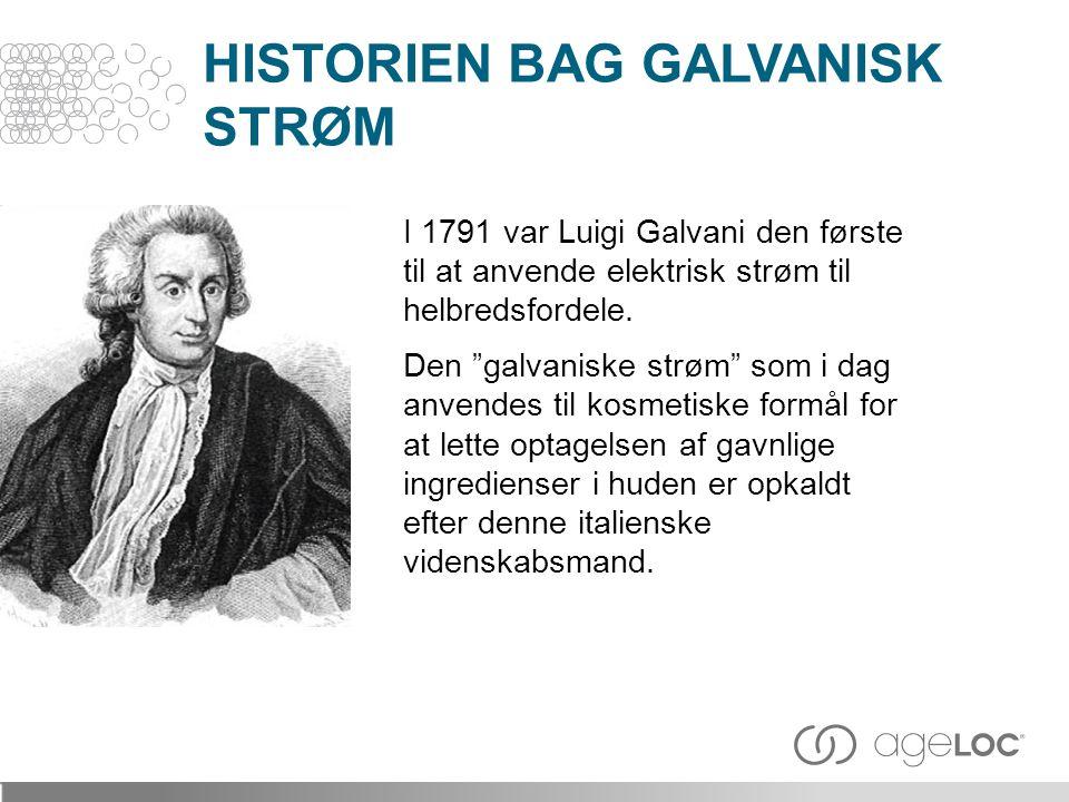 HISTORIEN BAG GALVANISK STRØM