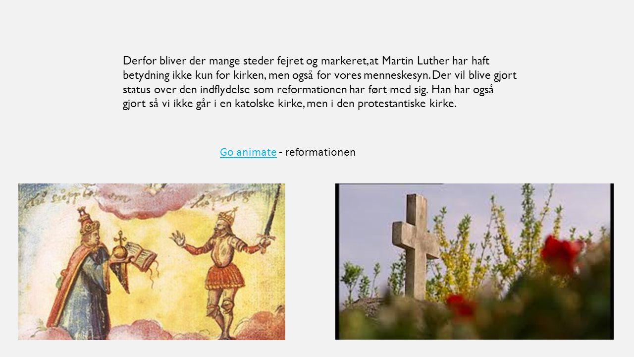 Go animate - reformationen