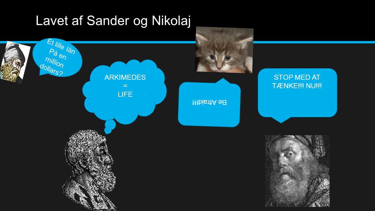 Lavet af Sander og Nikolaj
