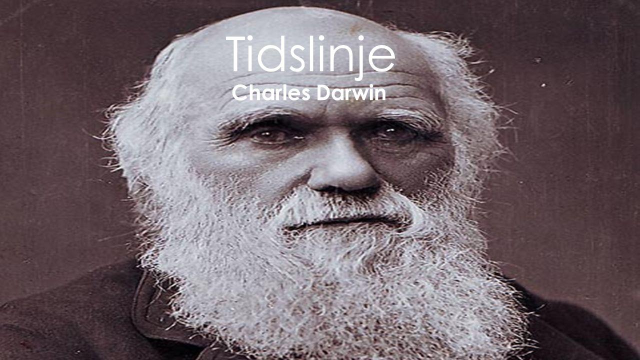 Tidslinje Charles Darwin