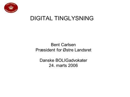 digital tinglysning tingbogen