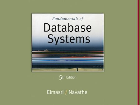 Slide 15- 1. Copyright © 2007 Pearson Education, Inc. Publishing as Pearson Addison-Wesley Chapter 15 Algorithms for Query Processing and Optimization.