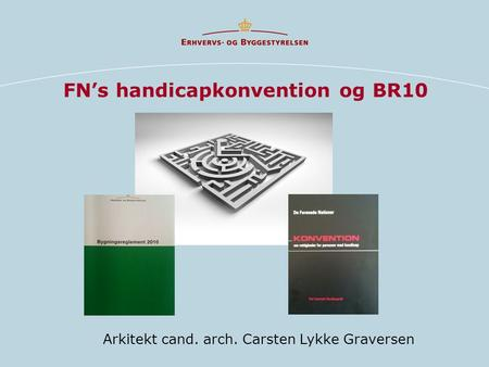 FN's handicapkonvention og BR10