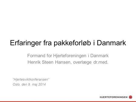 dansk lunge cancer gruppe