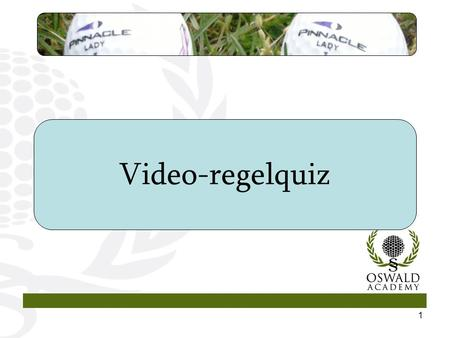 1 Video-regelquiz. 2 I denne lille video-regelquiz bliver I stillet over for ni regelsituationer i slagspil. Hver situation beskrives i en video, som.