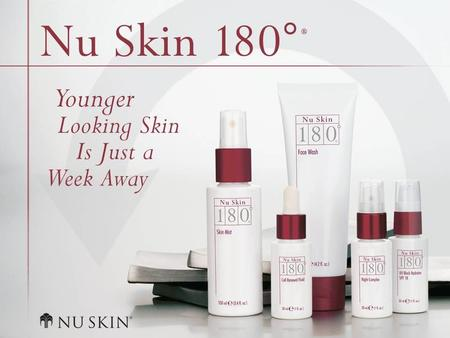 © 2001 Nu Skin International, Inc. Nu Skin 180 ° ® Anti-Ageing Skin Therapy System oversigt.