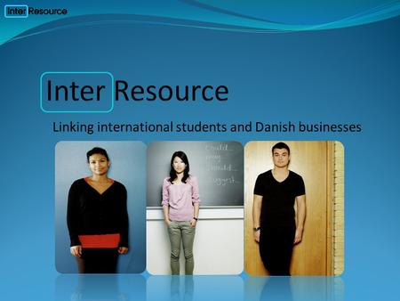 Linking international students and Danish businesses.