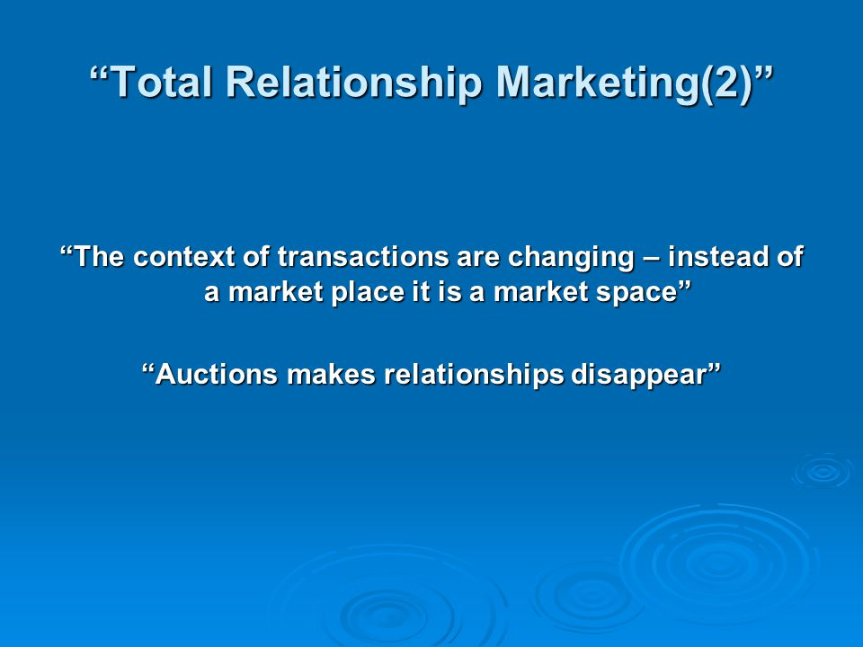 Total Relationship Marketing(2)