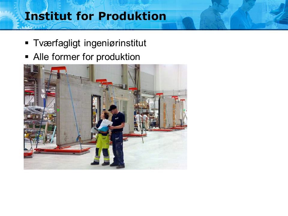 Institut for Produktion
