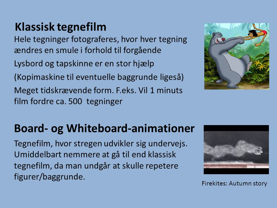 Board- og Whiteboard-animationer