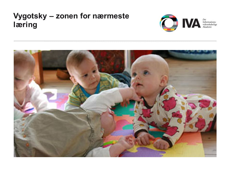 Vygotsky – zonen for nærmeste læring