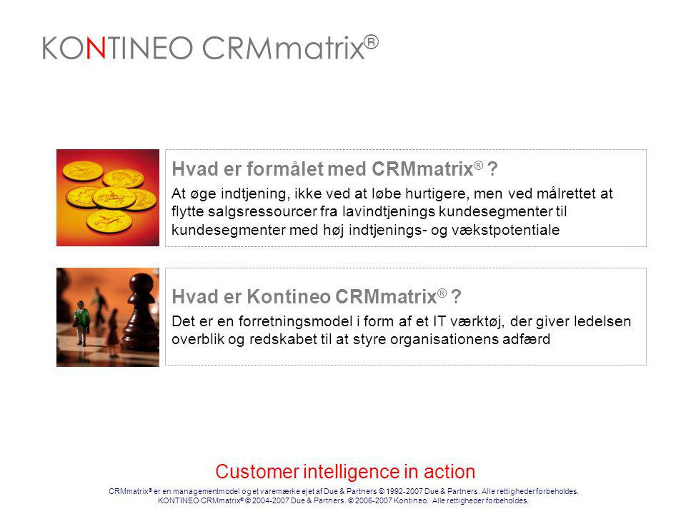 Customer intelligence in action
