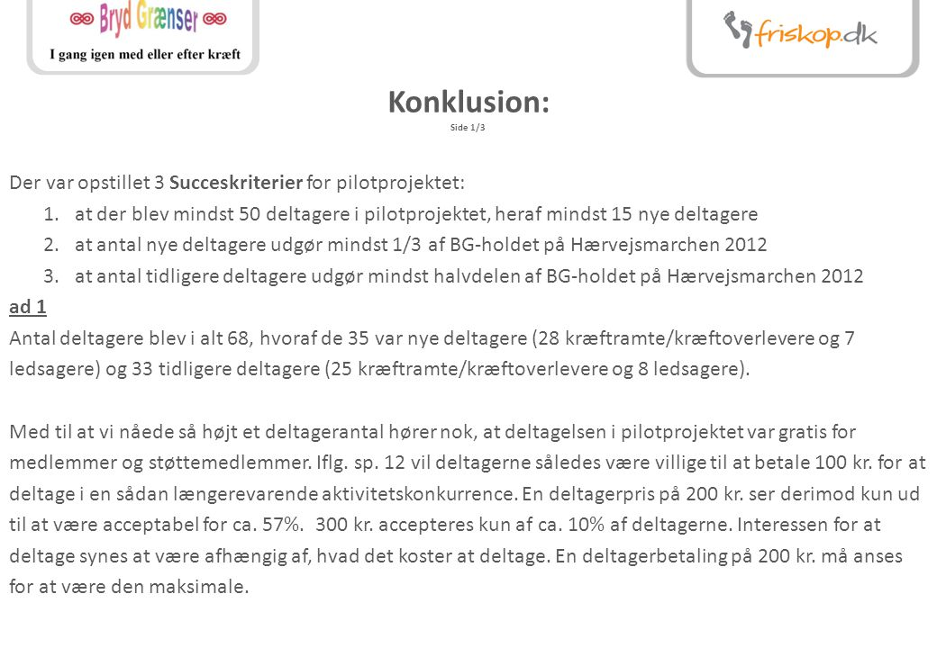 Konklusion: Side 1/3