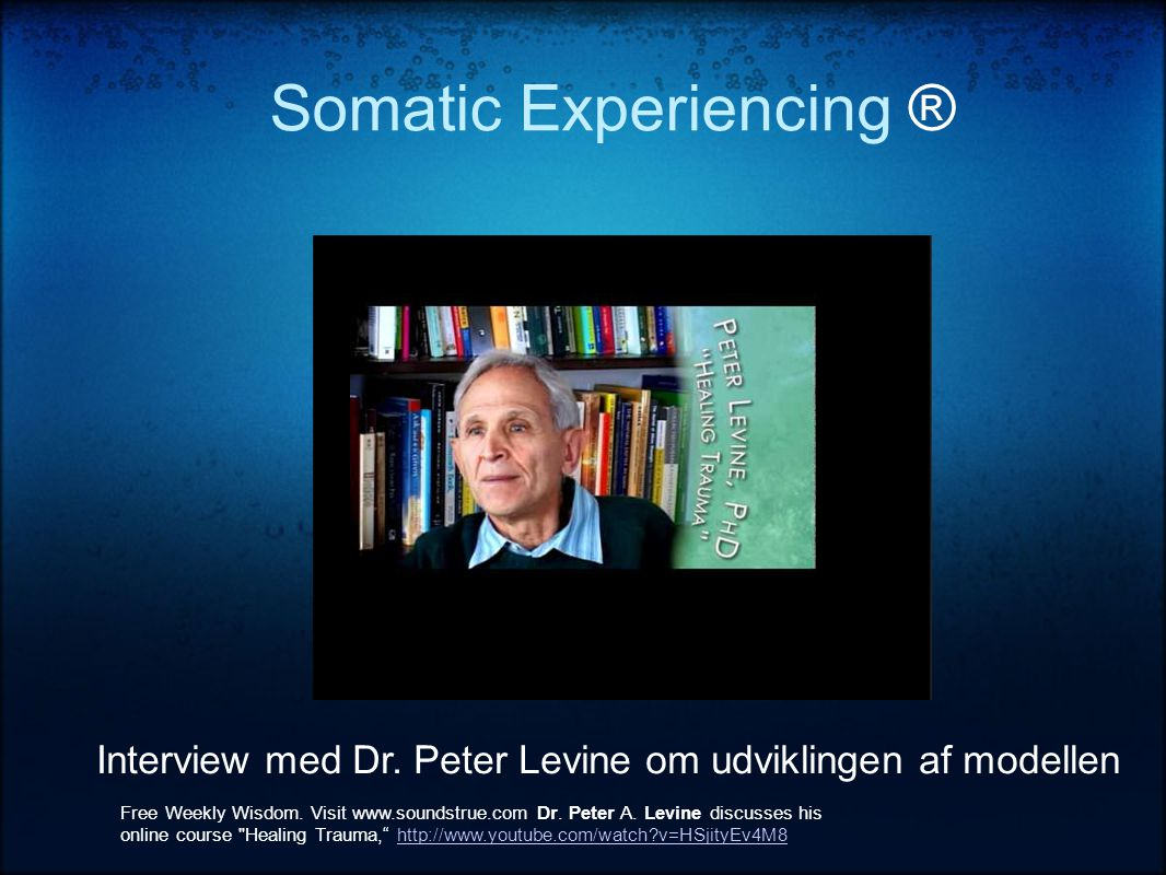 Somatic Experiencing ®
