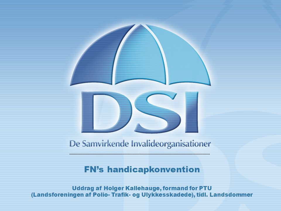 FN's handicapkonvention