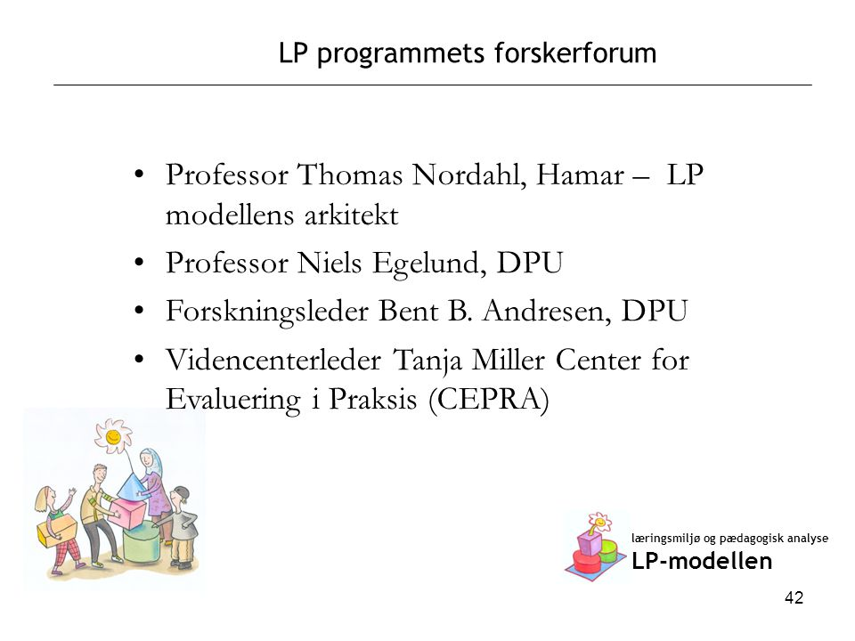 LP programmets forskerforum