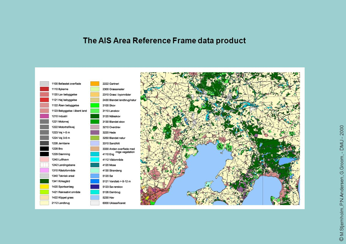 The AIS Area Reference Frame data product