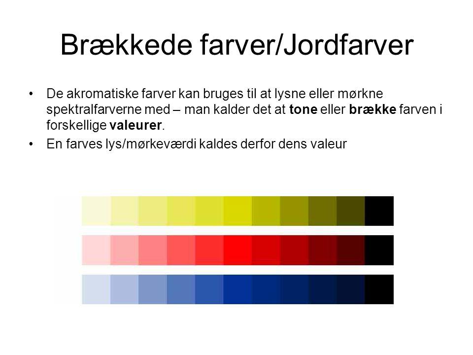 brækkede farver Farvevirkning/Farvekontraster   ppt video online download brækkede farver