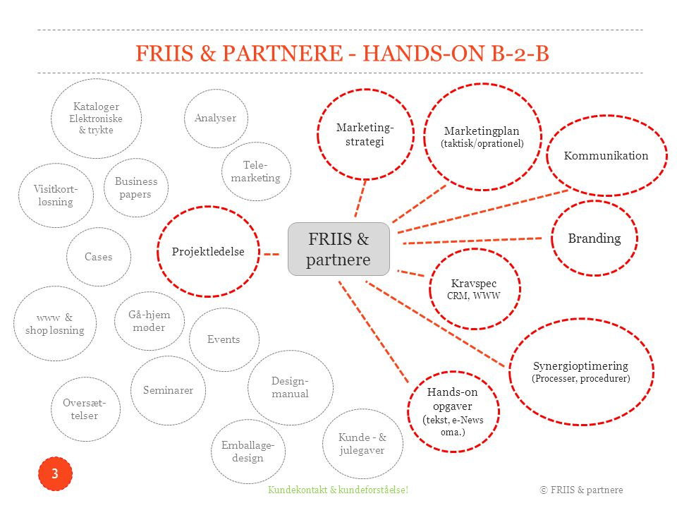 FRIIS & partnere - Hands-on B-2-B