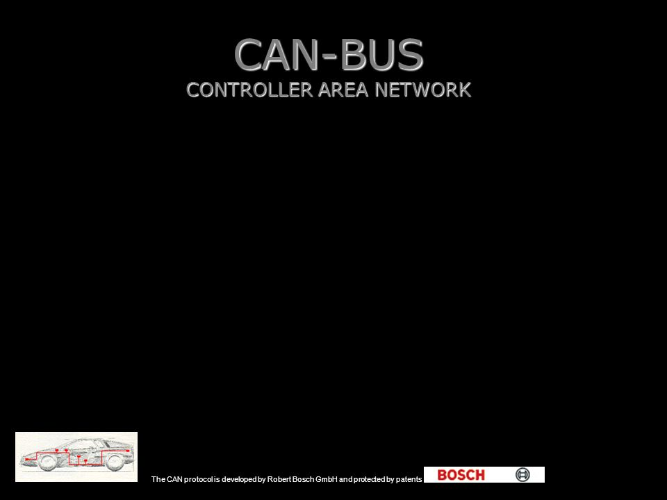 CAN-BUS CONTROLLER AREA NETWORK