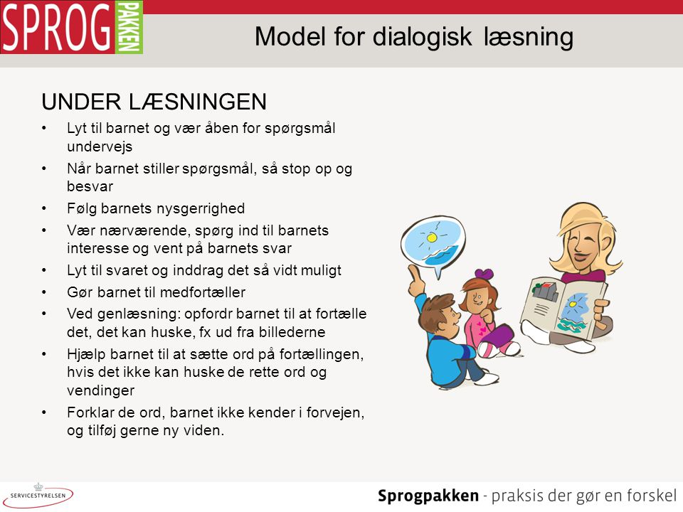 Model for dialogisk læsning