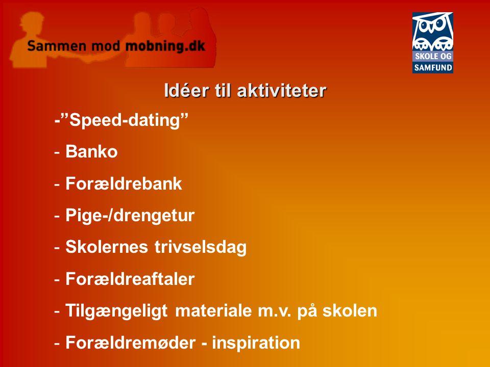 speed dating mv