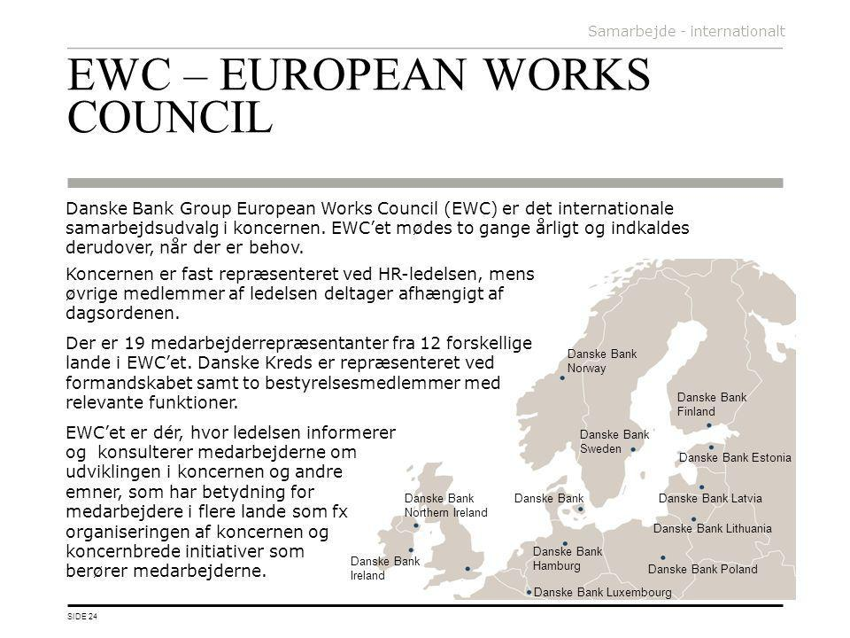 EWC – EUROPEAN WORKS COUNCIL