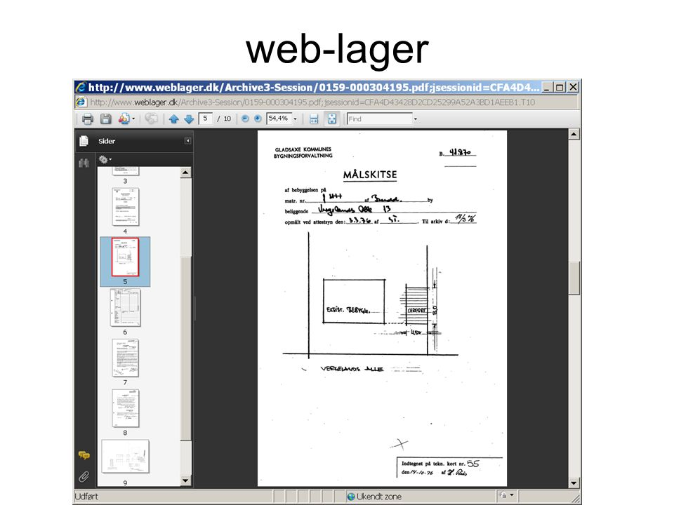 web-lager