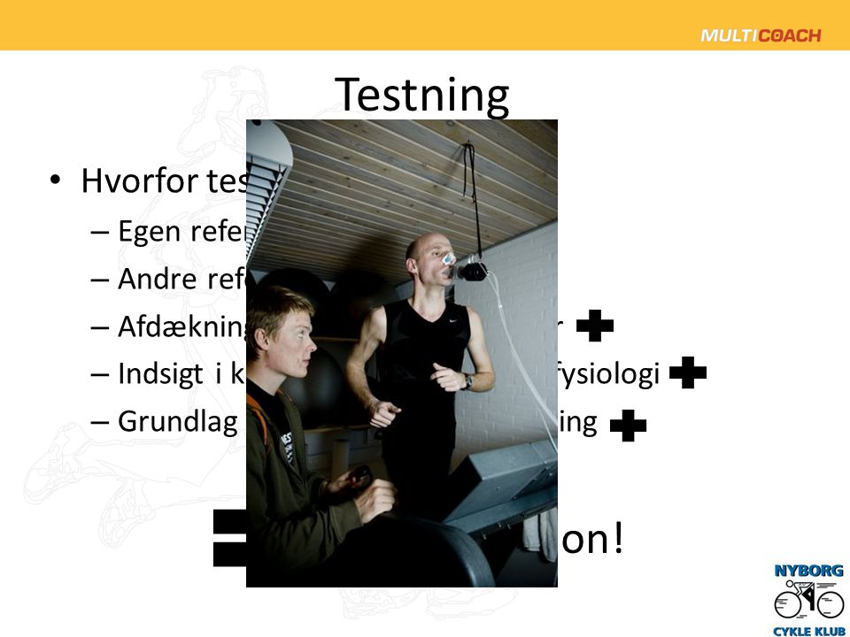 Testning Motivation! Hvorfor teste Egen reference Andre referencer